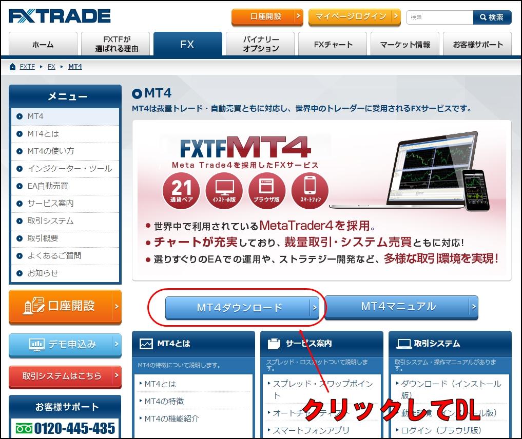 FXMT4設定