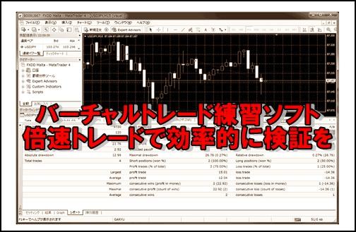 fx検証ソフト