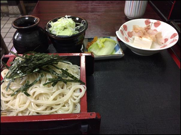 桜台松月庵蕎麦
